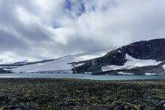 Geleira de Jotunheimen Nigardsbreen, parque nacional de Nigardsvatnet Jostedalsbreen, Noruega imagem de stock royalty free