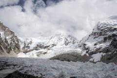 Geleira de Khumbu Fotografia de Stock Royalty Free