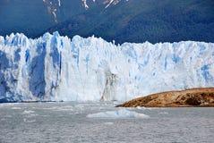 A geleira de Perito Moreno Fotos de Stock Royalty Free