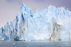 A geleira de Perito Moreno Foto de Stock