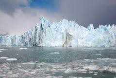 A geleira de Perito Moreno Fotografia de Stock