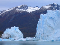 Geleira de Perito Moreno, Argentina fotografia de stock royalty free