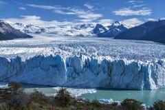 Geleira de Perito Moreno em Argentina Imagem de Stock