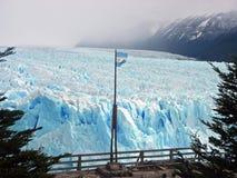 Geleira de Perito Moreno em Argentina fotografia de stock royalty free