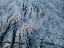 Geleira de Skaftafell em Islândia Imagem de Stock