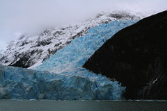 Geleira de Spegazzini, parque nacional do Los Glaciares, Argentina Imagens de Stock Royalty Free