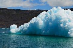 Geleira de Steffen no campo de gelo patagonian do sul de Campo de Hielo Sur, Patagonia chileno imagem de stock