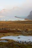 Geleira de Vatnajokull - Islândia fotografia de stock royalty free