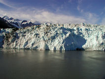 Geleira do Alasca bonita Fotos de Stock Royalty Free