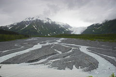 Geleira do Fjord de Kenai fotografia de stock