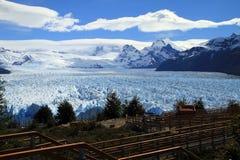 Geleira do Patagonia imagem de stock