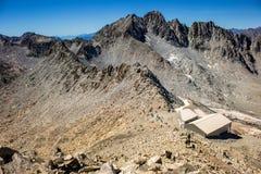 Geleira do ` s de Presena do pico de Presena, Itália Imagem de Stock