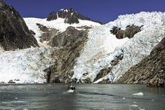 Geleira em Alaska Fotografia de Stock Royalty Free