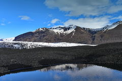Geleira em Skaftafell em Islândia Imagem de Stock Royalty Free