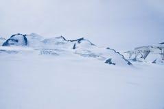 Geleira em Skagway Alaska foto de stock