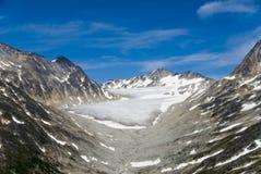 Geleira em Skagway Alaska Fotografia de Stock