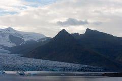 Geleira islandêsa - Vatnajokull Foto de Stock