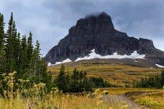Geleira no parque nacional de geleira Fotos de Stock Royalty Free