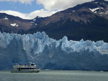 A geleira no Patagonia, Argentina de Perito Moreno. imagens de stock royalty free