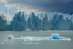 A geleira no Patagonia, Argentina de Upsala. Fotos de Stock Royalty Free