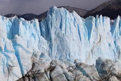 A geleira Perito Moreno Fotos de Stock Royalty Free