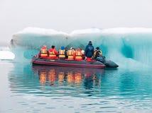 Geleiras e iceberg Imagens de Stock Royalty Free
