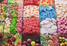Geleisuikergoed Stock Foto's