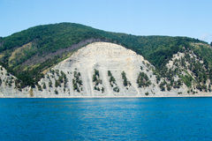 Gelendzhik,海和山的俄罗斯海岸 图库摄影