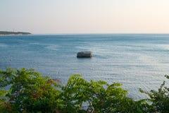 Gelendzhik,海和山的俄罗斯海岸 免版税库存图片