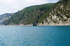 Gelendzhik,海和山, Skala帕鲁斯的俄罗斯海岸 库存图片