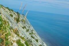 Gelendzhik, побережье России моря и гор Стоковое Изображение