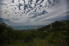 Gelendzhik-Ansichten des Berges Krasnodar-Region Russland 22 05 2016 Stockbild
