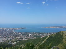 Gelendzhik and the Black sea Royalty Free Stock Photo