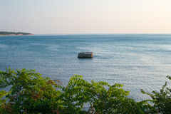 Gelendzhik, Russia coast of the sea and mountains Royalty Free Stock Image