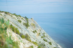 Gelendzhik, Russia coast of the sea and mountains stock images