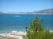 Gelendzhik stad, Black Sea Arkivfoton