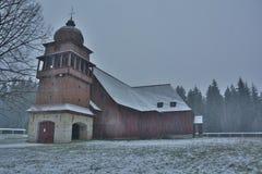 Gelenk hölzerne Kirche Stockfotografie