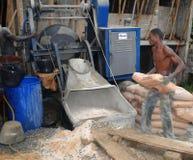 Gelernter Arbeiter Stockfoto