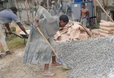 Gelernter Arbeiter Stockbild