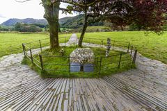 Free Gelert's Grave In Beddgelert, Snowdonia. Stock Photo - 116215180