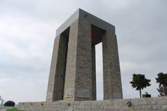 Gelibolu martyrdom moment. Çanakkale Gelibolu martyrdom memorial moment Royalty Free Stock Photo