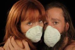 Geliebte in einer Pandemie lizenzfreies stockfoto