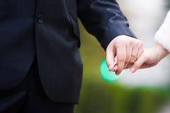 Geliebtpaar-Holdinghände Lizenzfreie Stockfotografie