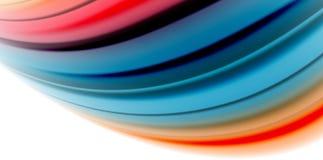 Gelifichi i colori fluidi di stile dell'arcobaleno del liquido corrente della gelatina, il fondo astratto dell'onda, progettazion Immagine Stock