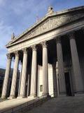 Gelijkstroom-het museum roman Grieks van de architectuurkunst Royalty-vrije Stock Afbeeldingen