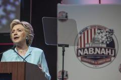 Gelijkstroom: Hillary Clinton-verschijning bij de Overeenkomst van NABJ NAHJ Royalty-vrije Stock Afbeeldingen