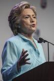 Gelijkstroom: Hillary Clinton-verschijning bij de Overeenkomst van NABJ NAHJ Stock Fotografie