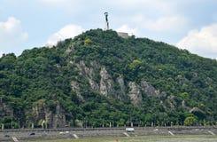 Gellért-Hügel, Budapest Lizenzfreie Stockfotografie
