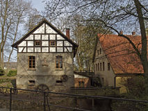 Gellenbecker mill in Lower Saxony, Germany Royalty Free Stock Images