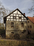 Gellenbecker mill in Lower Saxony, Germany Royalty Free Stock Photos